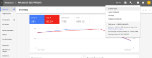 Adwords Guided Steps