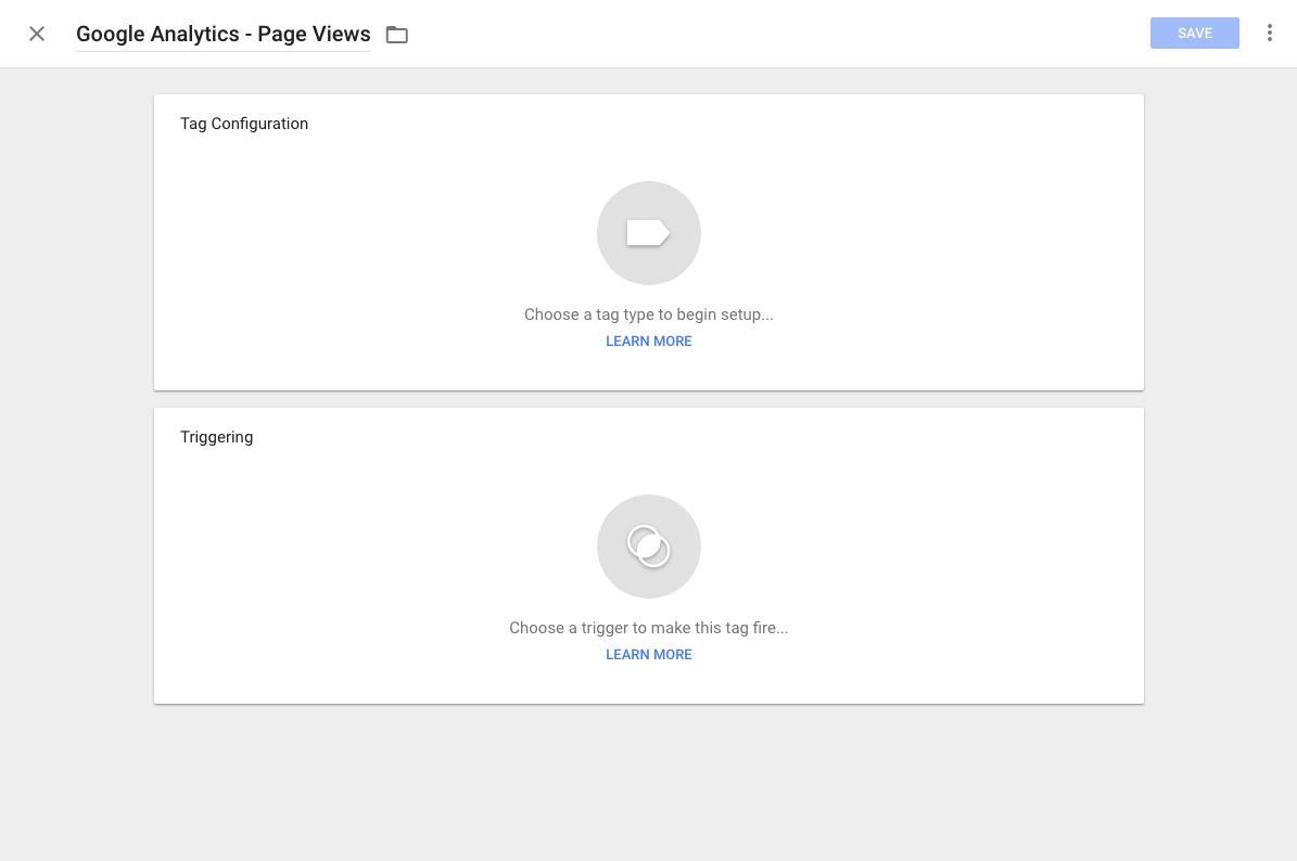 Google Tag Manager - Konfiguracija oznake