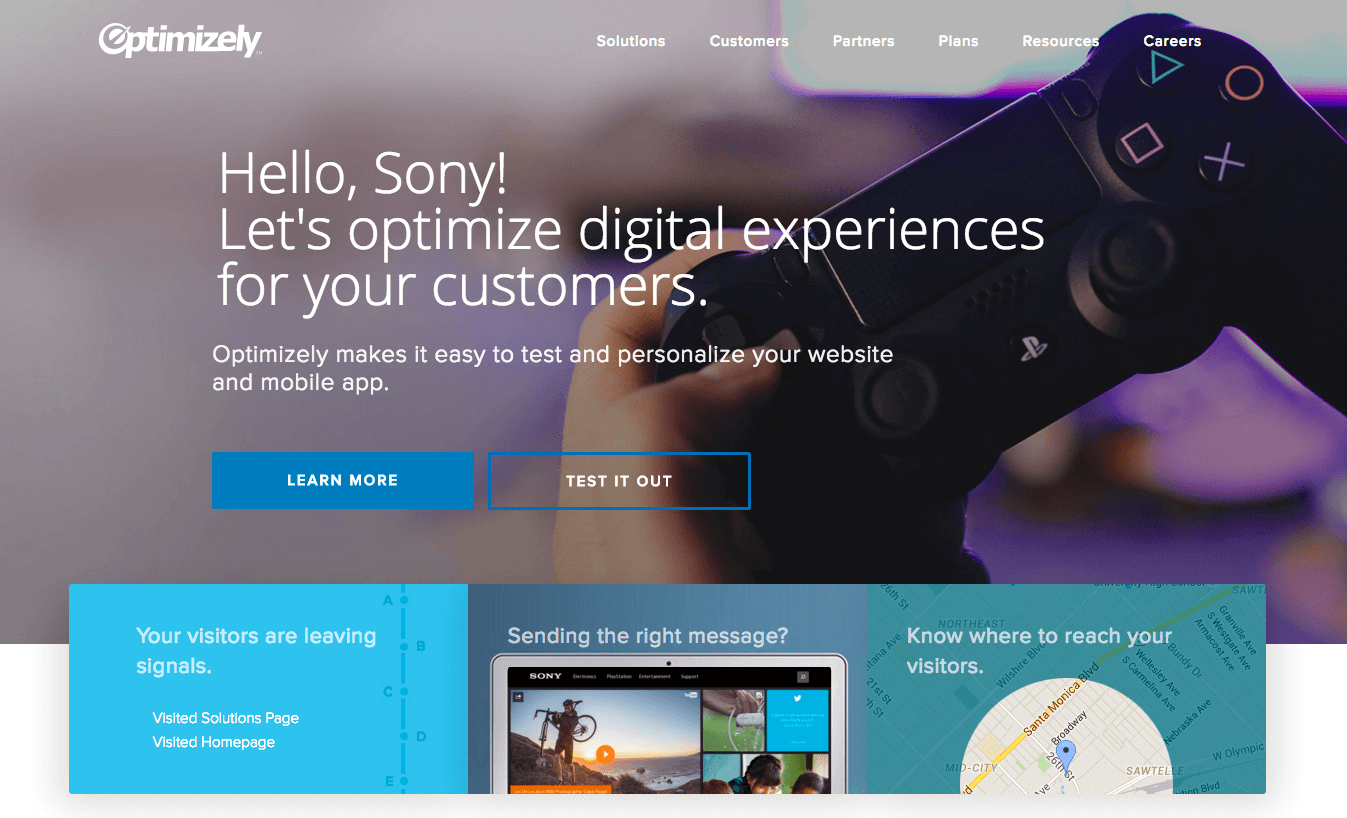 sony optimize digital experiences